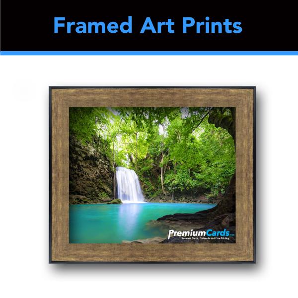 Bronze Black Finish Frame