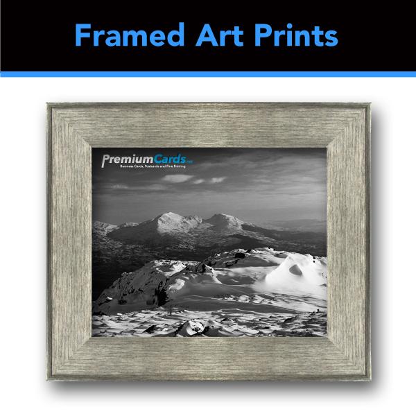 Nickel Finish Frame