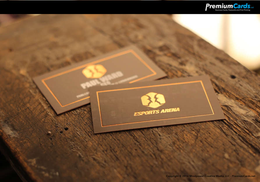 Silk and Foil Business Cards with Spot UV | PremiumCards.net ...