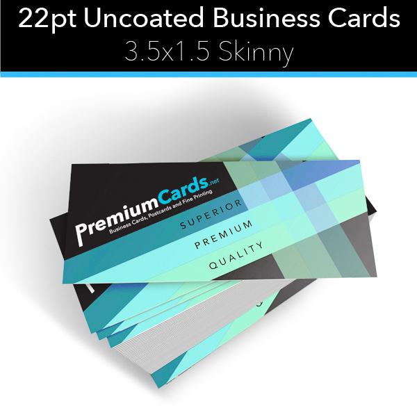 22pt skinny card