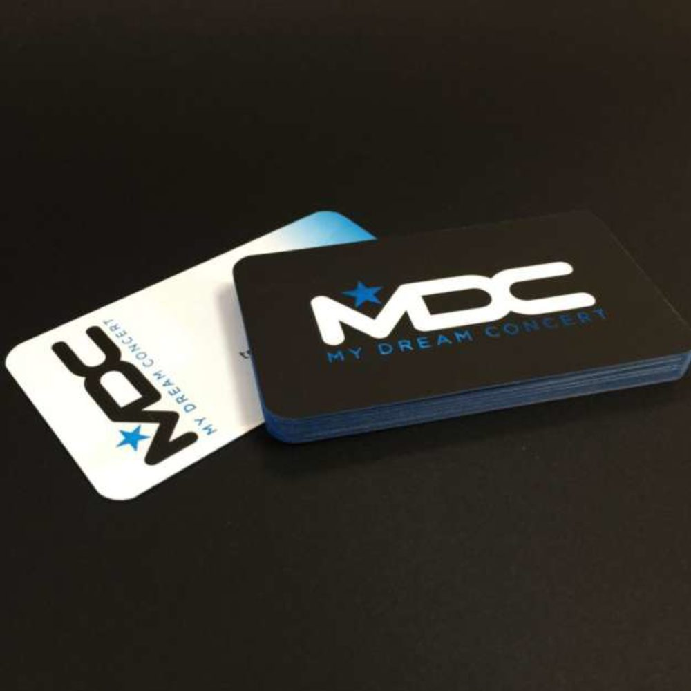 Edge Painted Uncoated Business Cards – Premium Business Cards ...