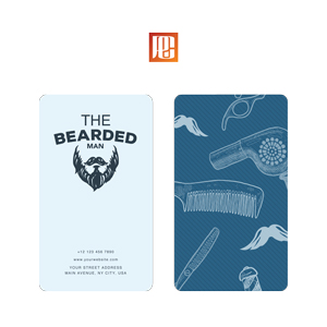 Beard Grooming Business Card