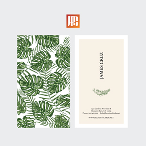 Nature Business Card Design