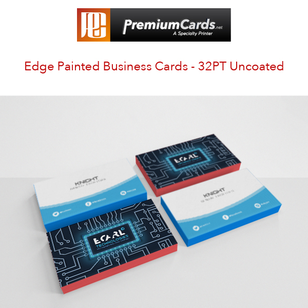 32pt uncoated business cards by premiumcards premiumcards edge painted business cards colourmoves