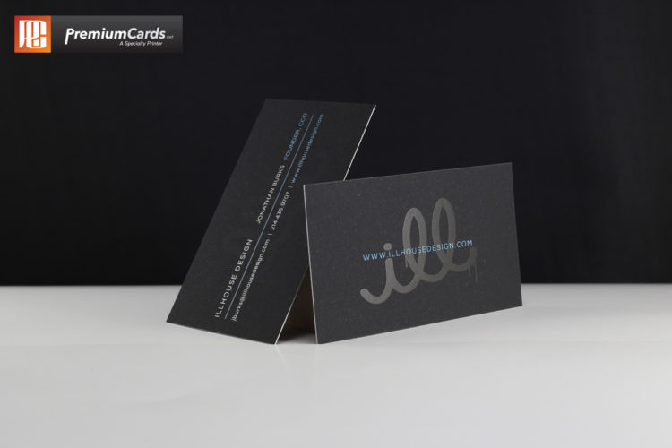 Soft Touch Spot Uv Business Cards